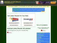AMERICAN LOTTERY RESULTS | AMERICANLOTTERYRESULTS.COM | POWERBALL | MEGA MILLIONS