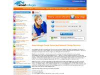 americolleges.com career school, online colleges, career training