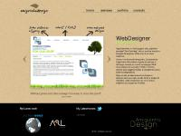 amiguinhodesign.com portfolio, contacts, web design
