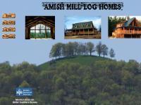 Amish Mill Log Homes