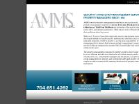 AMMS, Inc.: Safety Management, Criminal Response, Security Guards and Property Security Services