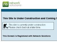 Domain Not Valid