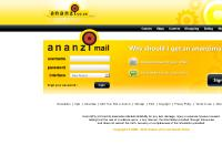 Ananzi Webmail