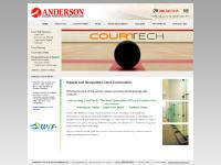 Squash Court Construction & Racquetball Court Construction: Anderson Courts & Sports Surfaces: Buffalo, NY