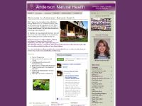 Anderson Natural Health Home Page