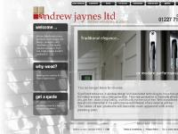 Andrew Jaynes Ltd | specialists in the design, manufacture and installation of