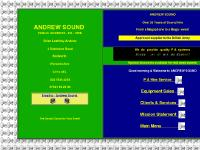 Andrew Sound - P A Hire Public Address Sound Systems, Sound Hire