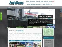 andygump.com Andy Gump, Temporary Site Services and Portable Services for Special Events, Construction