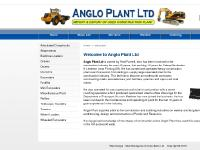 Anglo Plant Ltd :: Plant & Equipment