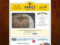 anniescafebar.com Annies, Cafe, Bar