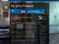 My Sony Products