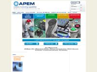 APEM: Professional switches manufacturer, joysticks, LED indicators, stainless