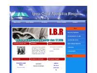 apostolicaresgate.com.br Ministérios, Avisos e Eventos, Contatos