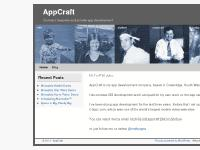 AppCraft | Contract, bespoke and private app development