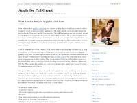 Apply for Pell Grant