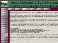appyholadayssporthorses - Appy Holaday's Sport Horses