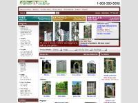 arbors-to-trellises.com Arbors, Arbor Extensions, Benches
