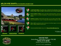 Arlen Hire Boats on the beautiful Lancaster Canal