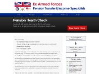 armedforcespensiontransfers.com Who We Are, Benefits For You, The Process