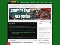 armypttest.com Army PT Test | Tired of searching the internet Soldier| All Army PT Test documents and needs is in one place! Click on the top right Army PT test tab and find everything you need.