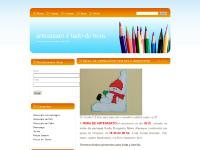 Artesanato em EVA, decoupage, feltro, pintura country | Curso de artesanato em BH