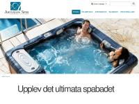 Spabad utomhus, Utespa, Utomhusspa & Massagebad - Artesian Spas