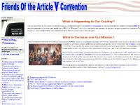 Friends Of the Article V Convention