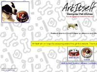 Art Itself Designer Pet Dishes Home Page