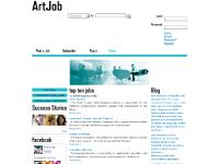artjob.org ArtJob, find a job, community