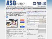 asctuition.co.uk Tutor/Teacher Recruitment, Personal Success