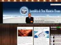 assembleiadedeushosana.com.br Pastor Geraldo Martins Pereira, /div, religião e espiritualidade