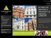 assenresidential.co.uk professional accomodation london