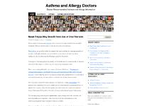 Dr. Dean Mitchell, The Allergy and Asthma Solution, Website, Pollen and Mold Counts (AAAAI)