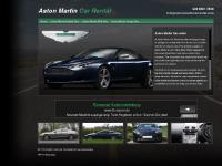 Aston Martin Car Rental in London and all major UK airports