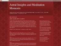 Astral Insights and Meditation Moments