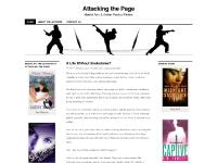 Attacking the Page | Martial Arts & Action-Packed Fiction