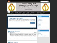 attackwarningred.com WEBSITE UNDER CONSTRUCTION, The Royal Observer Corps Association, News/Events