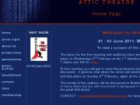 attictheatre.co.uk attic theatre, attic, theatre