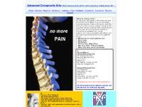 authentichealing.net Dr DeSantis, Advanced Chiropractic Arts, Chiropractic relief
