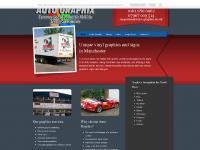 auto-graphix.co.uk vehicle graphics, shop signs, a boards