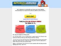 Autoblog Samurai