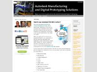 Autodesk Manufacturing & Digital Prototyping Solutions