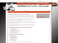 Spare Car Parts - Sunderland | Auto Save Car Spares & Audio