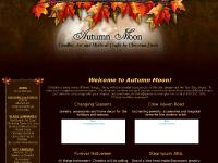 Autumn Moon ~ Handmade soy jar candles ~ Original Fairy & Fantasy Artwork & More