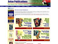 Bird books and bird DVDs from Avian Publications. Bird books and bird DVDs about
