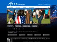 avon.org Calendar, Document Center, Intranet
