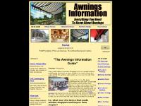 awnings-information.info awnings, aluminum awnings, canopy awnings