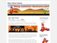 Baby Lobster Costume - The Best Baby Lobster Costume On The Net