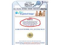 the Original Hospital Grade Baby Nasal Aspirator