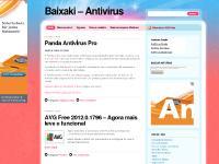 Baixaki – Antivírus- Antivirus Free, Antivirus Online Grátis, Antivirus